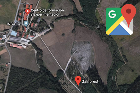 vista aerea maps galiforest